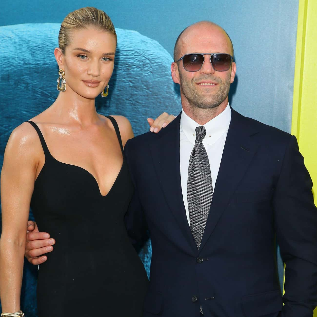 Rosie Huntington-Whiteley is listed (or ranked) 1 on the list Jason Statham Loves and Hookups