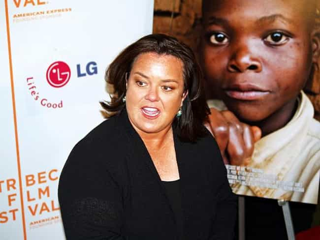 Rosie O'Donnell is listed (or ranked) 5 on the list Celebrities Who Are 9/11 Conspiracy Theorists