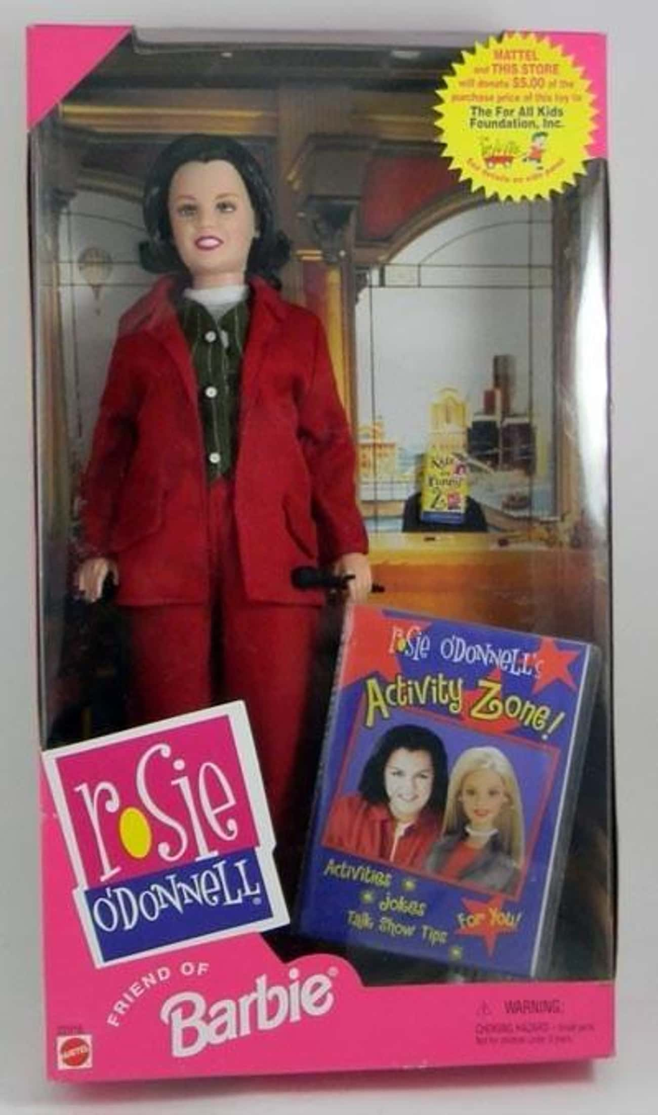 Rosie O'Donnell is listed (or ranked) 3 on the list Creepy Celebrity Dolls That Will Give You Nightmares