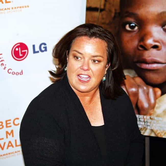 Rosie O'Donnell is listed (or ranked) 3 on the list Famous Lesbian Actresses
