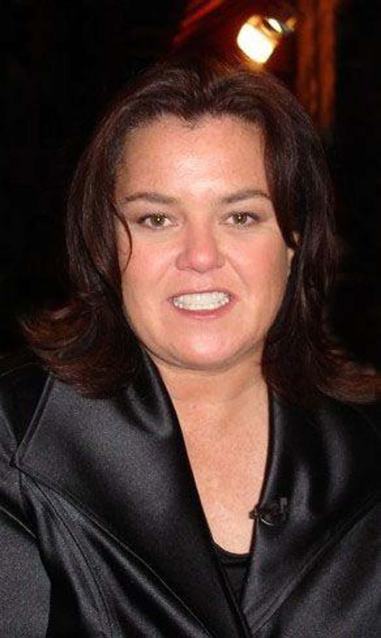 Rosie O'Donnell is listed (or ranked) 4 on the list 24 Celebrities Who Were Raised by Single Dads