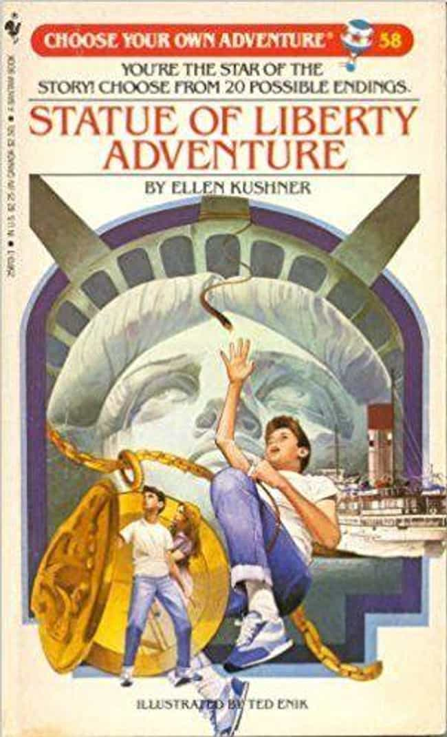 Statue of Liberty advent... is listed (or ranked) 5 on the list The Scariest 'Choose Your Own Adventure Books' That Terrified You As A Child