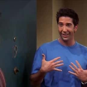 Ross Geller is listed (or ranked) 5 on the list Awkward TV Characters We Can't Help But Love