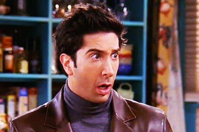 Ross Geller is listed (or ranked) 2 on the list How All The 'Friends' Characters Represent The Seven Deadly Sins