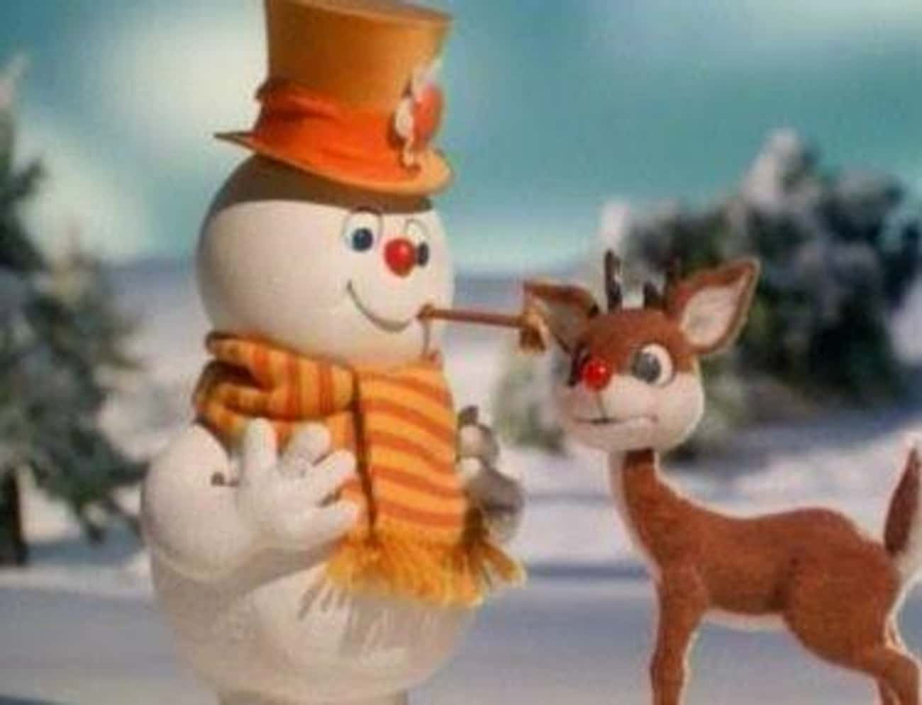 Rudolph And Frosty's Christmas is listed (or ranked) 2 on the list Those Rankin/Bass Stop-Motion Christmas Stories From Your Youth Are Weirder Than You Remember