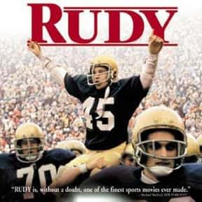 Rudy is listed (or ranked) 14 on the list The Best Sports Movies About Coaches