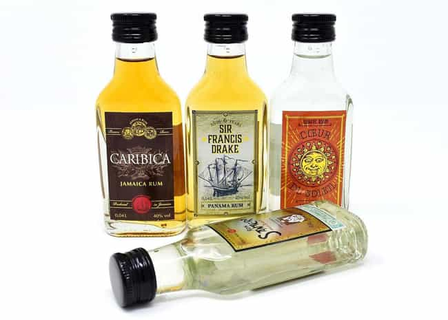 Rum is listed (or ranked) 3 on the list Types of Alcohol That Give You the Best Buzz