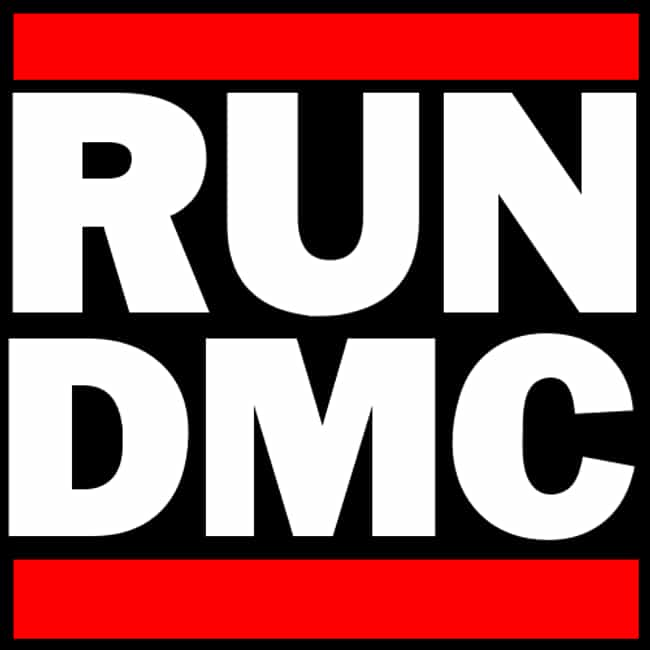 Run–DMC is listed (or ranked) 3 on the list The Best Hip Hop Logos Of All Time