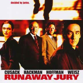 Runaway Jury is listed (or ranked) 13 on the list The Best Courtroom Drama Movies