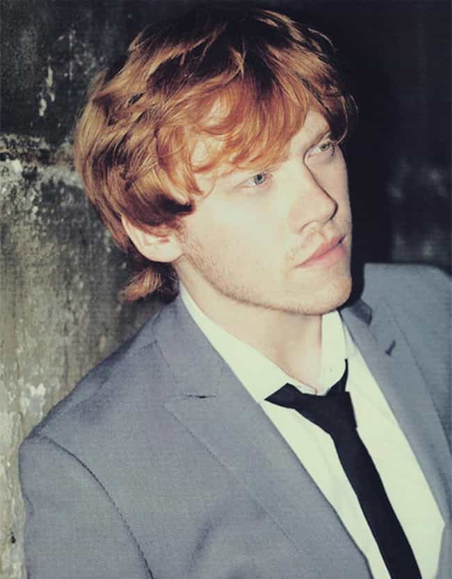 Rupert Grint is listed (or ranked) 4 on the list Famous Men an Ordinary Girl Might Have a Shot With