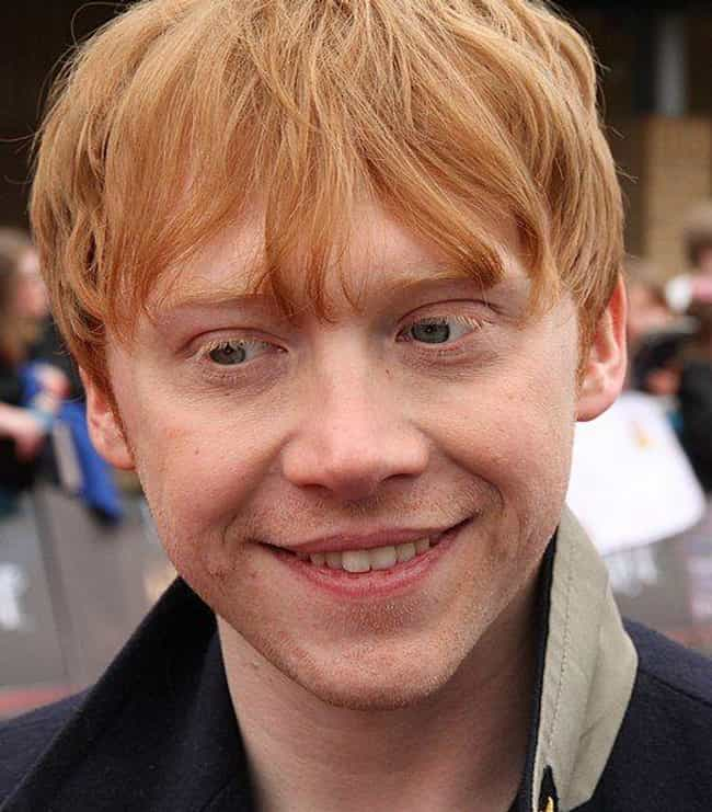 Rupert Grint is listed (or ranked) 2 on the list Actors Who Have Accused Their Co-Stars Of Being Bad Kissers