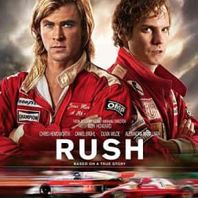 Rush is listed (or ranked) 1 on the list The Best Car Racing Movies That Really Put The Pedal To The Metal