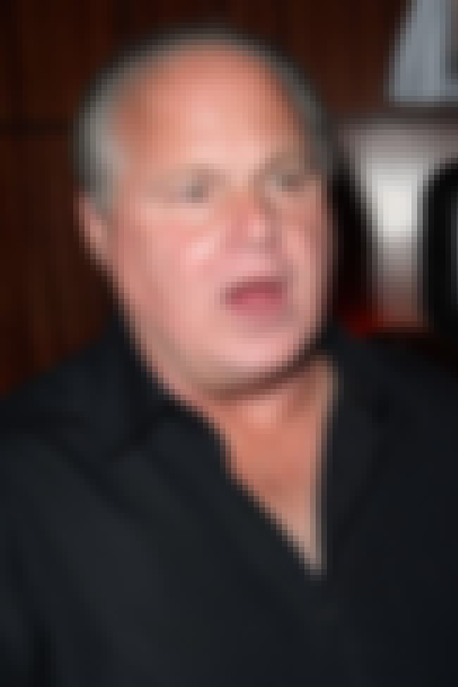 Rush Limbaugh is listed (or ranked) 3 on the list List of Famous Talk Show Hosts