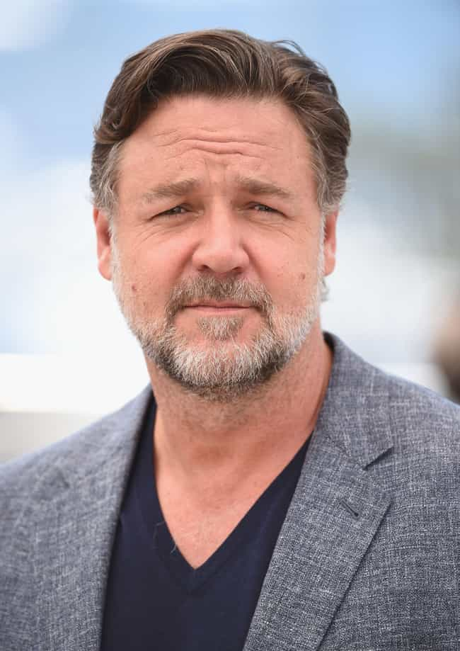Russell Crowe is listed (or ranked) 12 on the list 17 Famous Musicians Who Claim to Have Seen UFOs