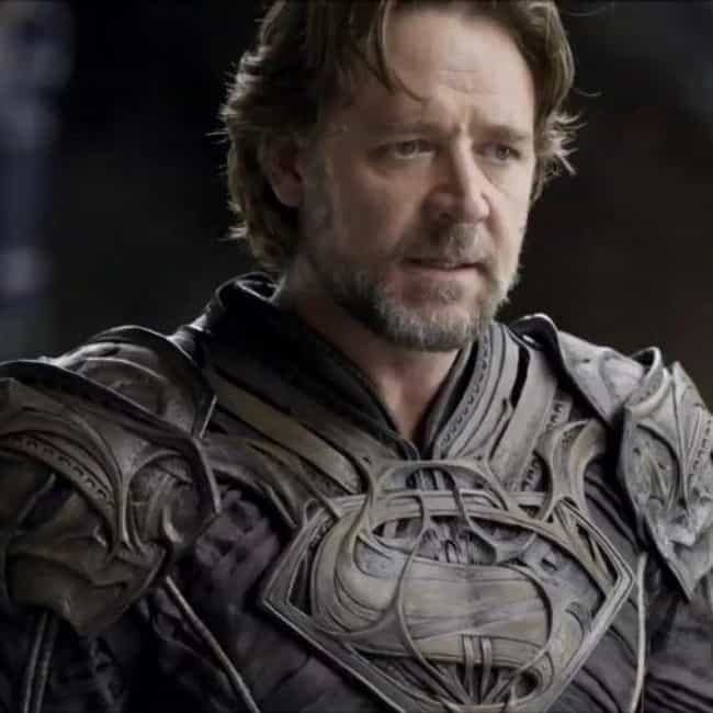 Russell Crowe is listed (or ranked) 2 on the list The Best Actors Who Played Jor-El
