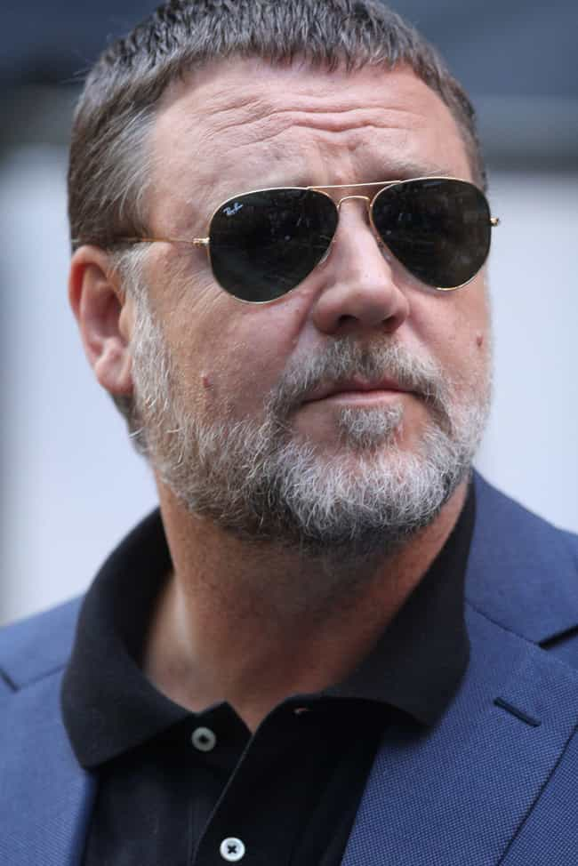 Russell Crowe is listed (or ranked) 4 on the list 19 Actors Who Sing in Bands