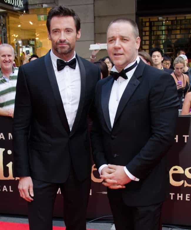 Russell Crowe is listed (or ranked) 1 on the list Famous Friends of Hugh Jackman