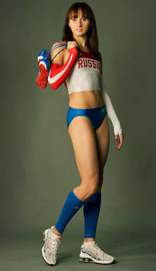Russia is listed (or ranked) 4 on the list Country with Most Athletic Women