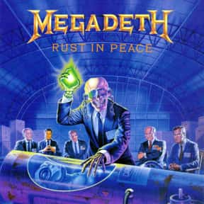 Rust in Peace is listed (or ranked) 13 on the list The Top Metal Albums of All Time