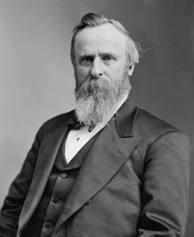 Rutherford B. Hayes is listed (or ranked) 19 on the list Every U.S. President & Every Medical Problem They've Ever Had