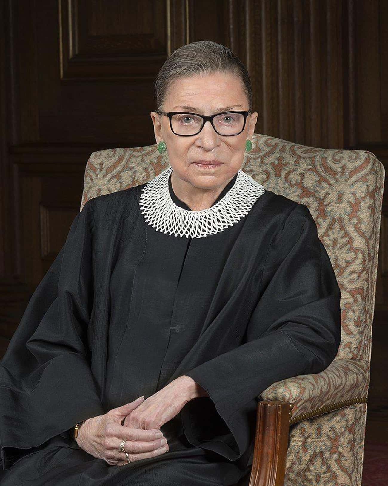 Ruth Bader Ginsburg is listed (or ranked) 4 on the list Famous People Who Died In 2020