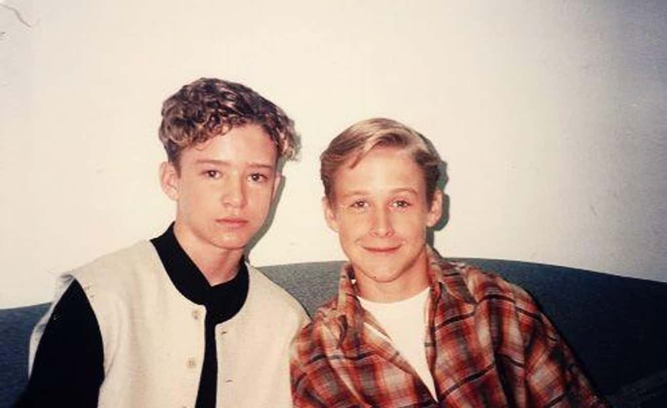 Ryan Gosling & Justin Timberla is listed (or ranked) 4 on the list Celebrities Who Went to Elementary School Together