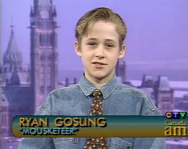 Ryan Gosling is listed (or ranked) 1 on the list 16 Actors That Started Their Careers In Adorable Children's Roles