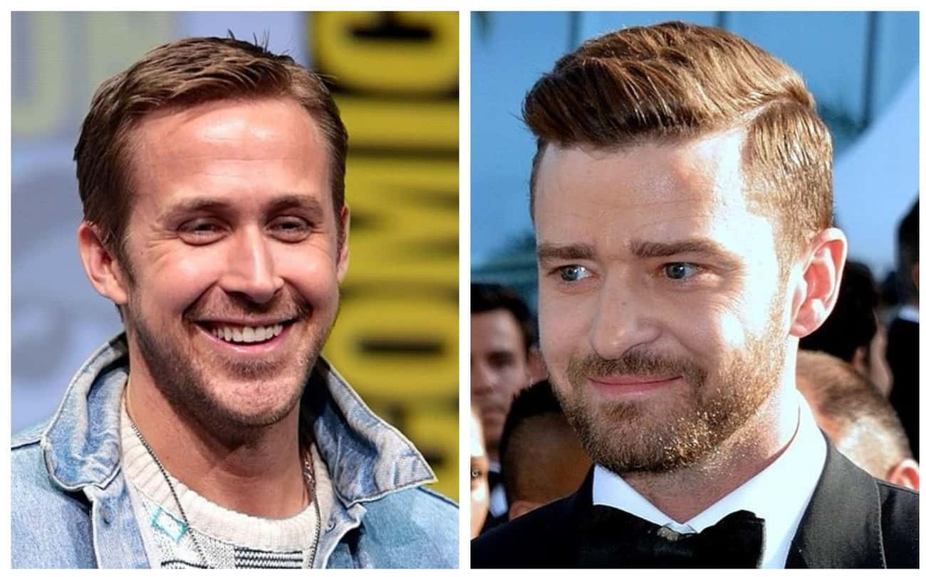 Ryan Gosling & Justin Timberla is listed (or ranked) 1 on the list Celebrities Who Were Once Roommates