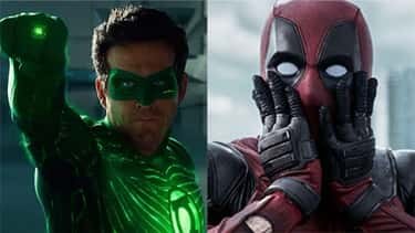Ryan Reynolds (From 'Green Lan is listed (or ranked) 2 on the list 13 Actors Who Leveled Up When They Switched Franchises
