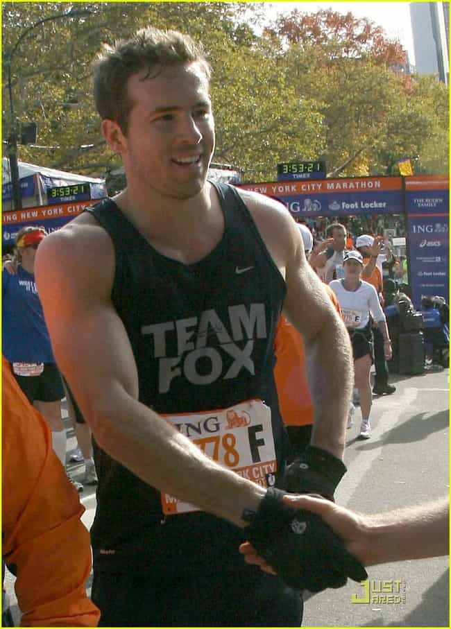Ryan Reynolds is listed (or ranked) 3 on the list 33 Celebrities Who Ran the New York Marathon