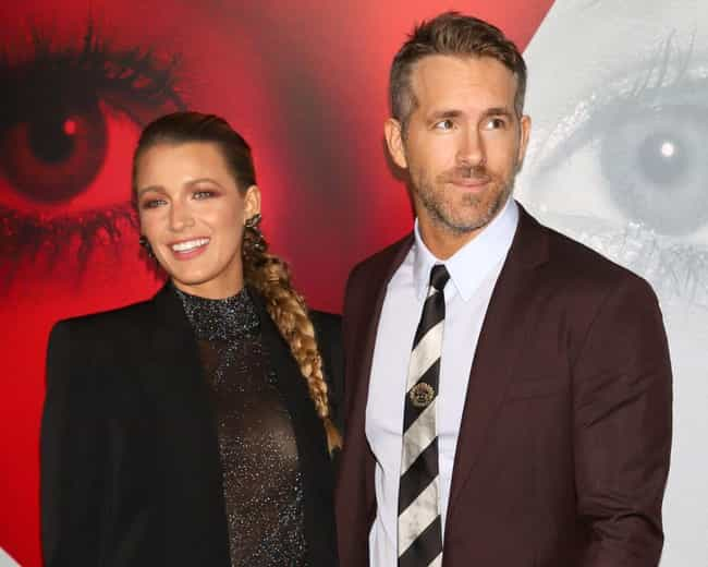 Ryan Reynolds is listed (or ranked) 2 on the list These Celebs Found Love On A Blind Date