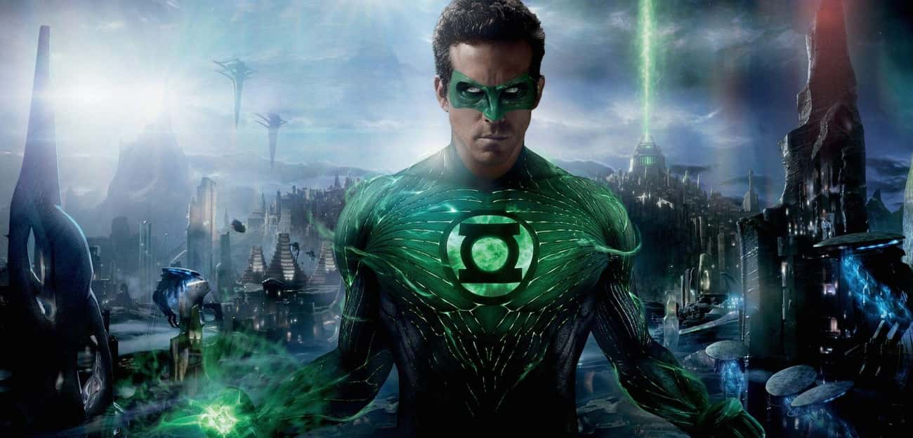 Ryan Reynolds - 'The Green Lan is listed (or ranked) 3 on the list Beloved Actors Who've Starred in Terrible Movies