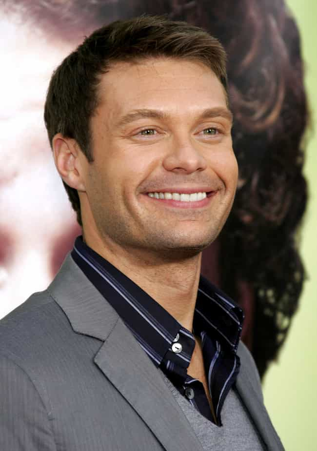 Ryan Seacrest is listed (or ranked) 3 on the list Celebrities Who Shop at Costco