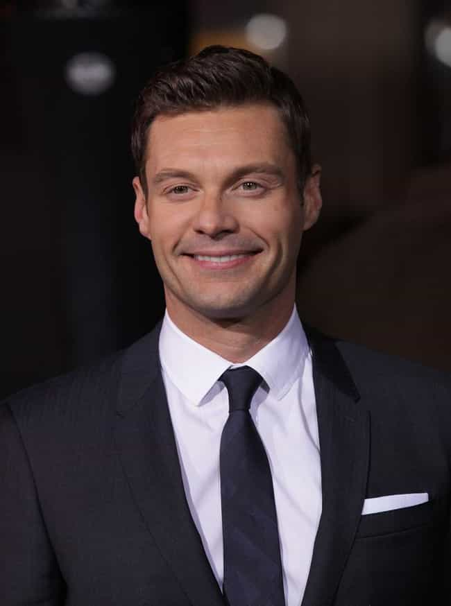 Ryan Seacrest is listed (or ranked) 4 on the list Famous Male Radio Personalities