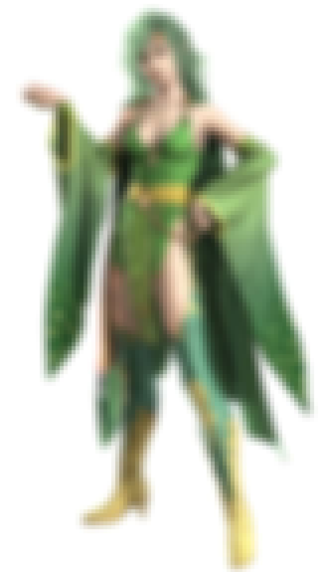 Rydia is listed (or ranked) 3 on the list The Best Video Game Characters with Green Hair