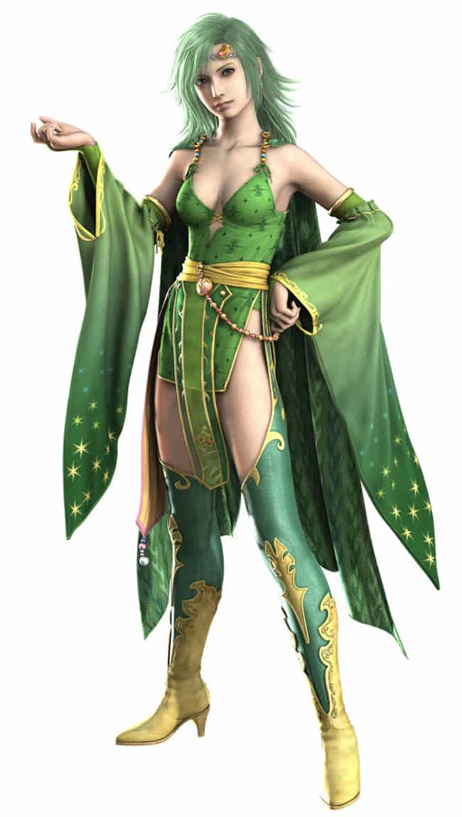 Rydia Is Listed Or Ranked 3 On The List Best Video Game Characters