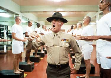 R. Lee Ermey Was An Actual Drill Instructor Before 'Full Metal Jacket'