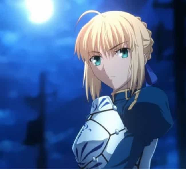 Saber is listed (or ranked) 3 on the list Female Anime Characters With The Best Outfits