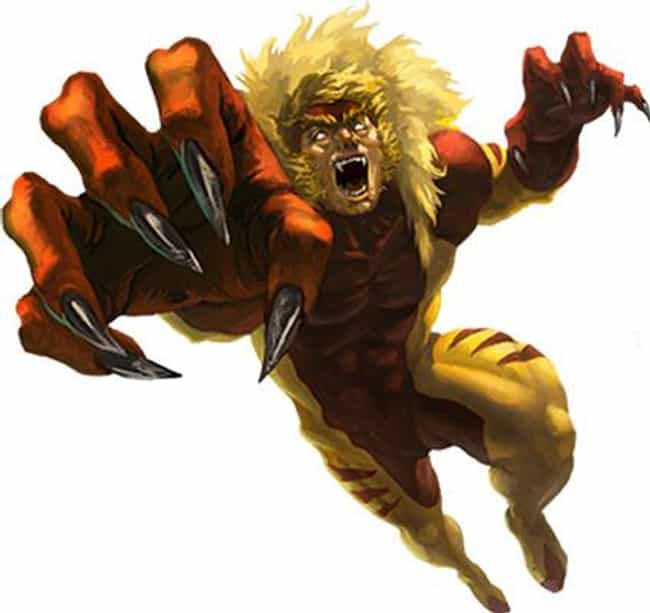 Sabretooth is listed (or ranked) 3 on the list 22 Comic Book Characters From Canada