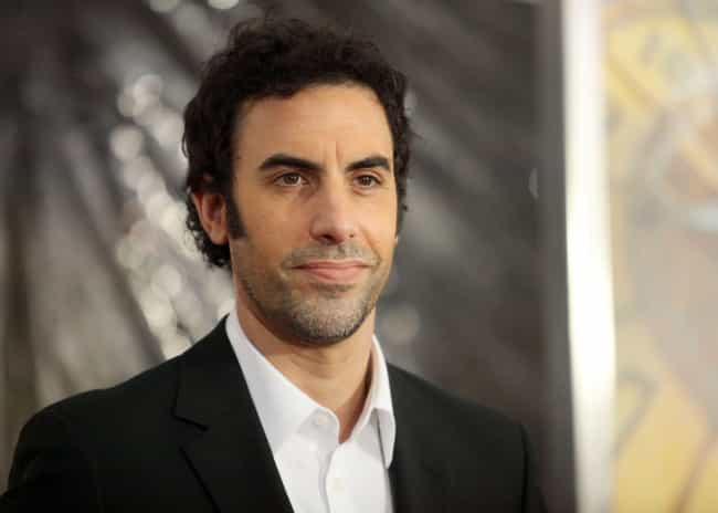 Sacha Baron Cohen is listed (or ranked) 1 on the list Famous Male Fashion Models