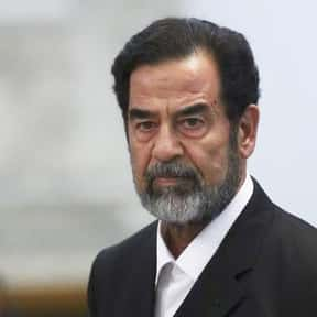 Saddam Hussein is listed (or ranked) 1 on the list List Of Executed Politicians