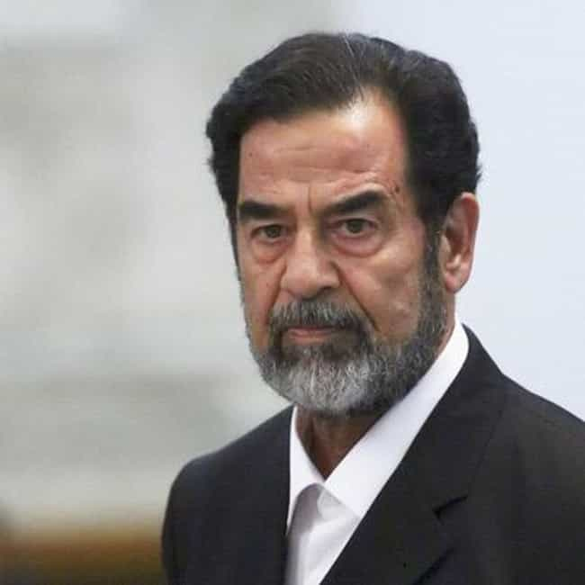 Saddam Hussein is listed (or ranked) 4 on the list The Most Mysterious Political Decoy Cases in History