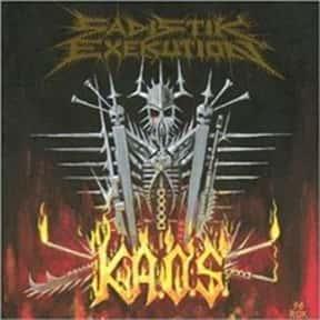 Sadistik Exekution is listed (or ranked) 23 on the list Australian Heavy Metal Bands List