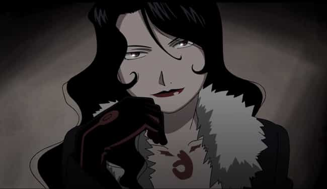 Lust is listed (or ranked) 2 on the list The 20 Greatest Femme Fatale Anime Characters of All Time