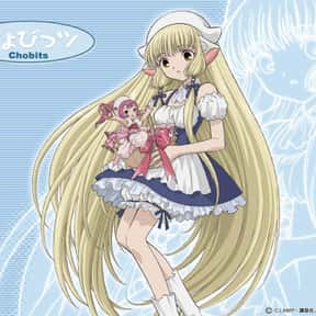Chobits is listed (or ranked) 18 on the list The Best Fan Service Manga of All Time