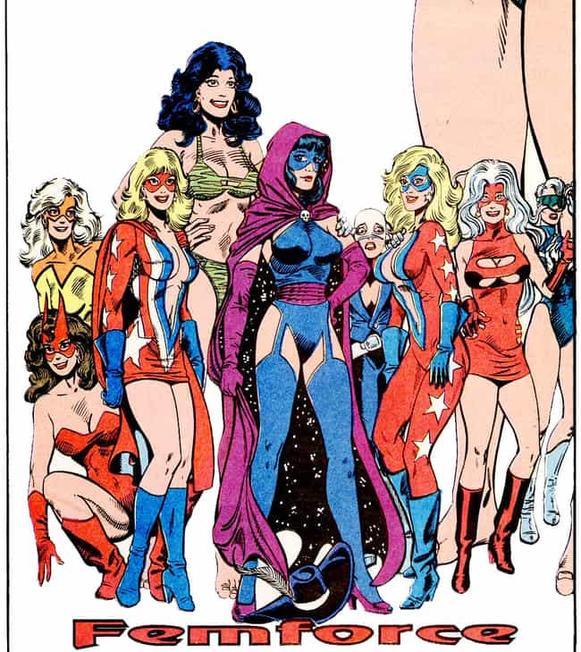 Femforce is listed (or ranked) 1 on the list The Greatest All-Female Superhero Teams & Ensembles