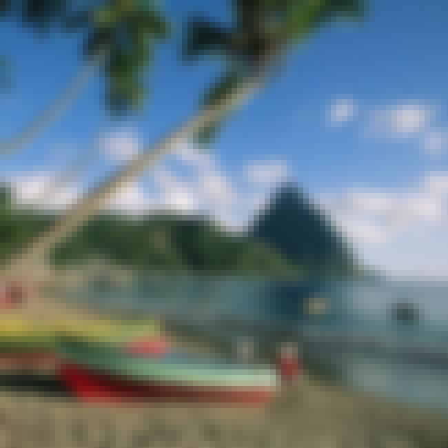 Saint Lucia is listed (or ranked) 1 on the list Caribbean Islands Ranked