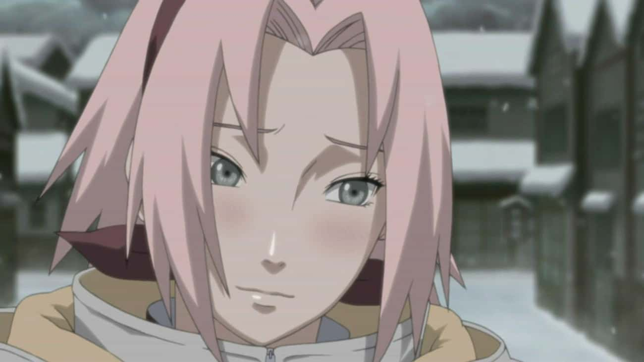 Sakura Haruno - 'Naruto' is listed (or ranked) 1 on the list 13 Poorly Written Anime Characters Who Could've Been Better