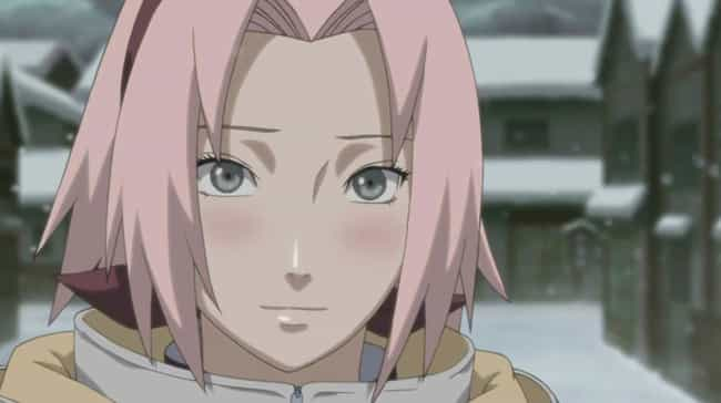 Sakura Haruno is listed (or ranked) 1 on the list The 15 Most Awkward Anime Confessions of All Time