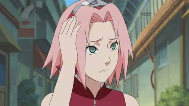 Sakura Haruno is listed (or ranked) 3 on the list The 20 Worst Naruto Characters In Series History